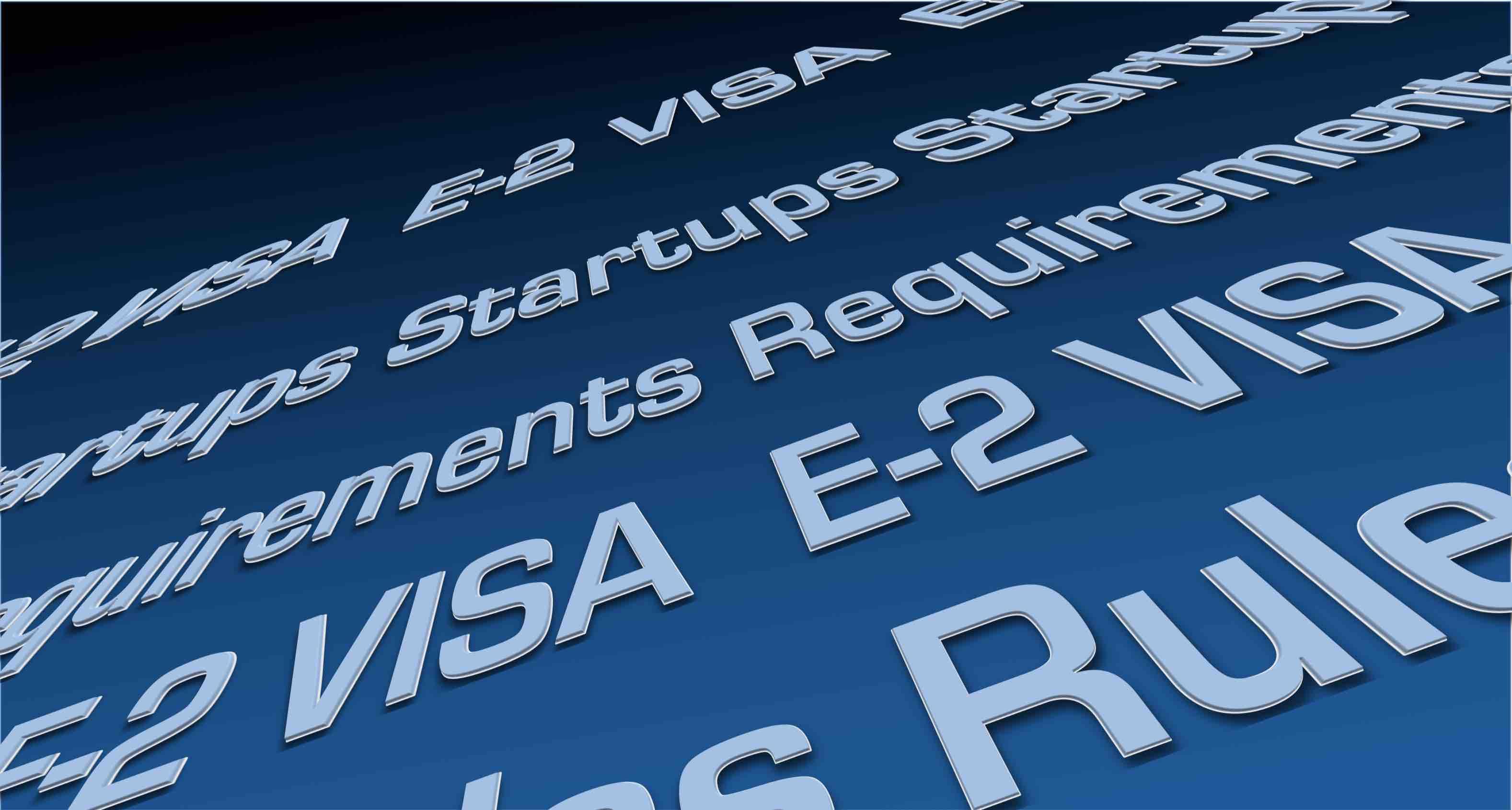 Requisitos de Visa E2 para Startups [Infografía]